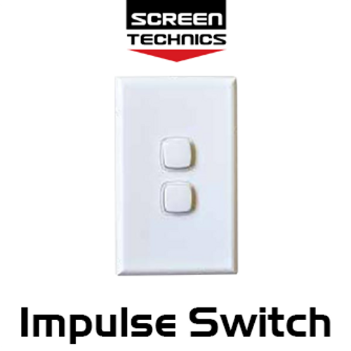 ST Two Button Impulse Wall Switch