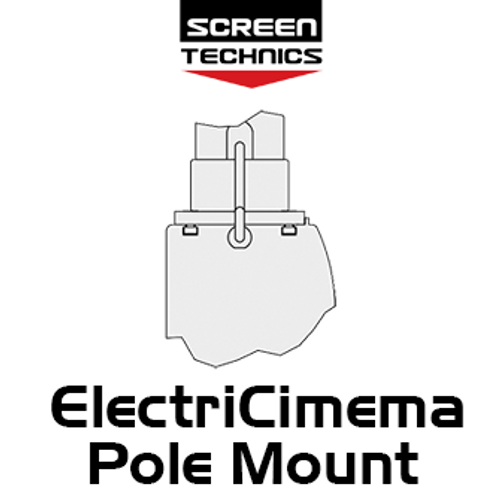 "ST ElectriCinema Pole Mount System To Suit 110""-150"" Screens"