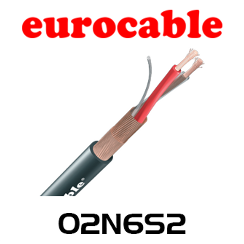 Eurocable 7.0mm Double Shielded Microphone Cable - 100m