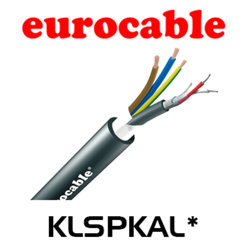 Eurocable Digital Audio + Power Flame Retardant Speaker Cable