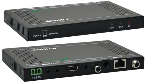 AVGear 4K Slim Line HDBaseT Receiver With De-Embedded Audio Output (40M)