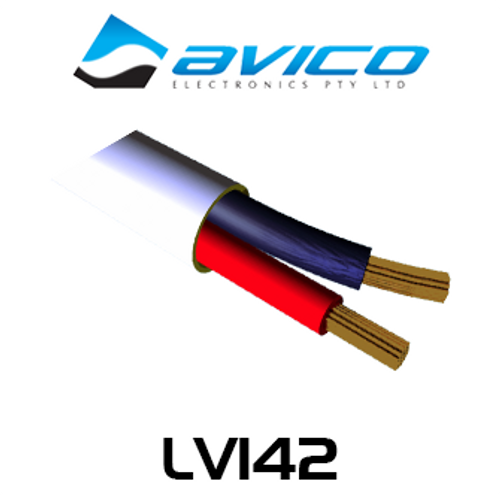 Avico LV162 14AWG 2 Core OFC Speaker Cable (100m)
