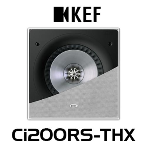 "KEF Ci200RS-THX 8"" THX Ultra2 In-Wall Subwoofer (Each)"