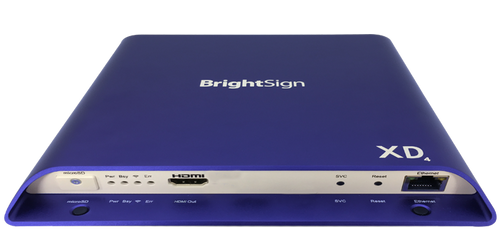 BrightSign XD234 Standard I/O 4K Dolby Vision Interactive Digital Signage Media Player