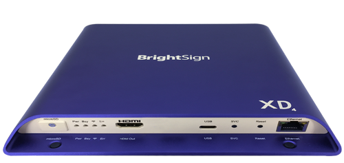 BrightSign XD1034 Expended I/O 4K Dolby Vision Interactive Digital Signage Media Player