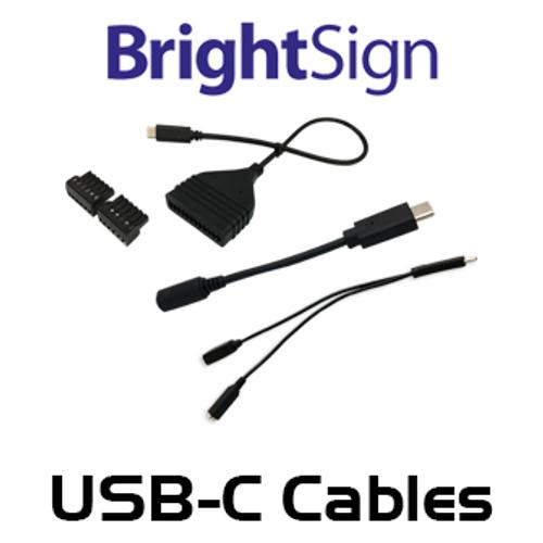 BrightSign USB C Cables & Connectors