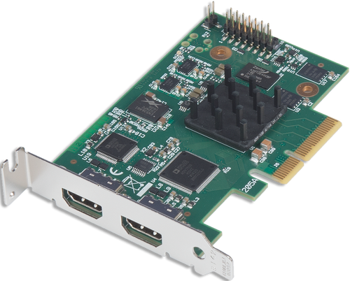 Datapath VisionLC-HD2 2 Channel HDMI PCI Express Capture Card