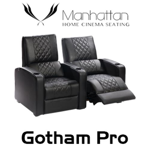 Manhattan Gotham Pro Leather / Suede Finish Cinema Seating