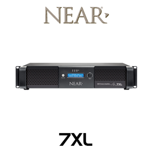 Near 7XL 700W 70V/8 Ohm Outdoor Amplifier With DSP