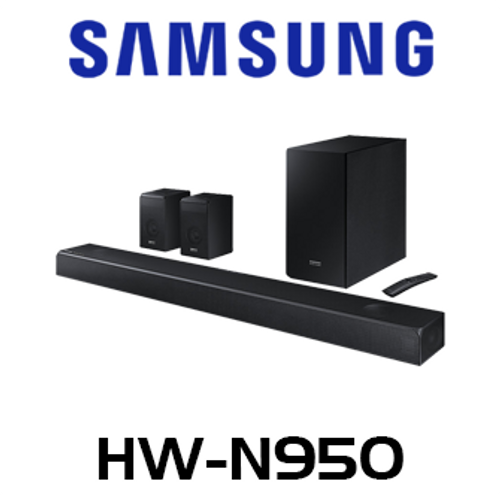 Samsung HW-N950 Harmon/Kardon Atmos & DTS:X Soundbar With Rear & Wireless Subwoofer