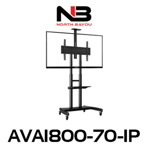 "NB AVA1800-70-1P 55""-80"" Flat Display Mobile TV Trolley"