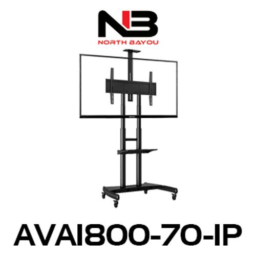 "NB AVA1800-70-1P 55""-80"" Flat Display Mobile TV Trolley"
