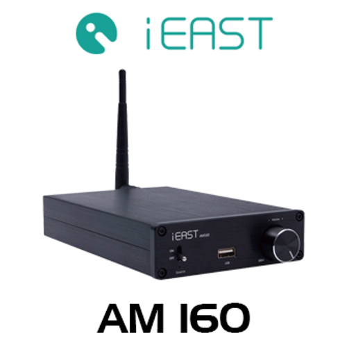 iEast StreamAmp AM160 80W Wireless Multi-Room Stereo Amplifier