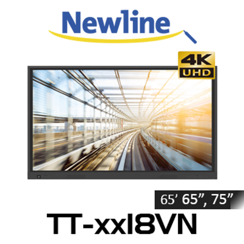 """Newline TruTouch VN 4K UHD Optically Bonded Interactive Display (65"""", 75"""", 86"""")"""