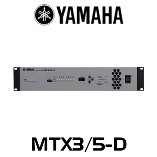 Yamaha MTX Series 8-Channel Audio Matrix Processor
