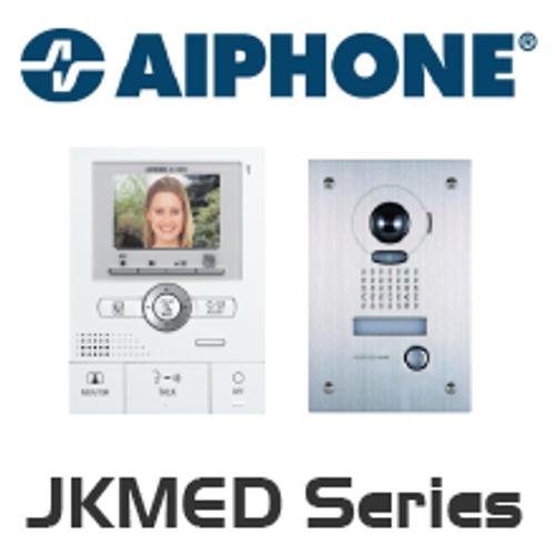 Aiphone JK-1MED Front Door Video Intercom - Kit