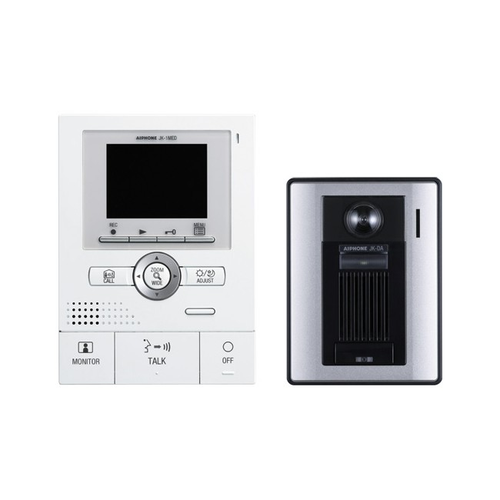 Front Door Intercoms: Aiphone JF-2MED Front Door Video Intercom