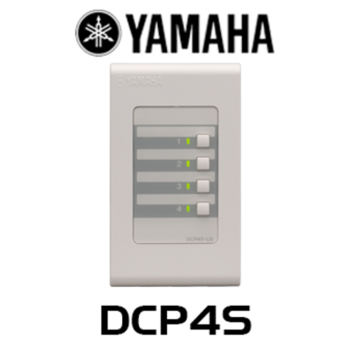 Yamaha DCP4S 4 Switch Wall Mount Control Panel