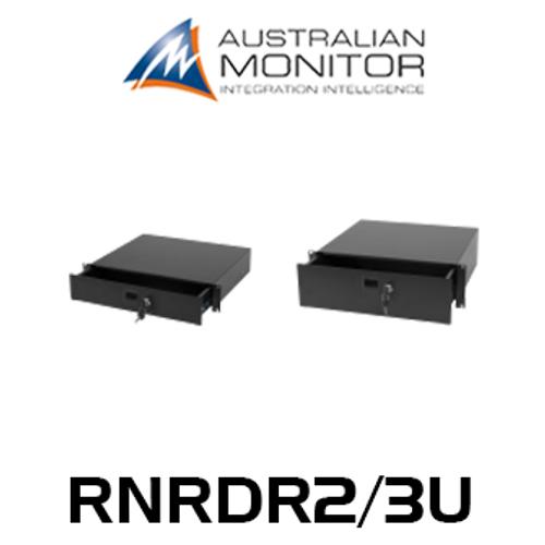 "Australian Monitor 19"" Rack 2/3RU Lockable Drawer"