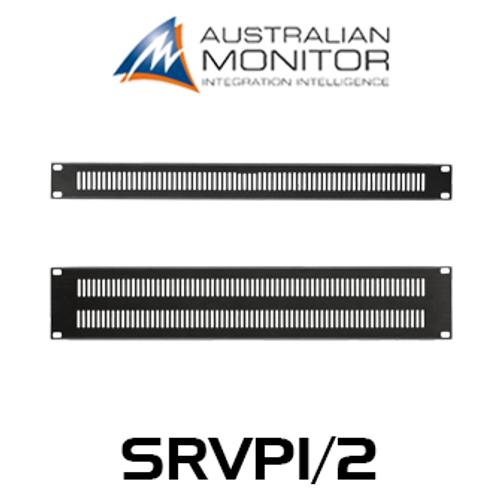 "Australian Monitor 19"" Rack 1 & 2RU Vent Panel"