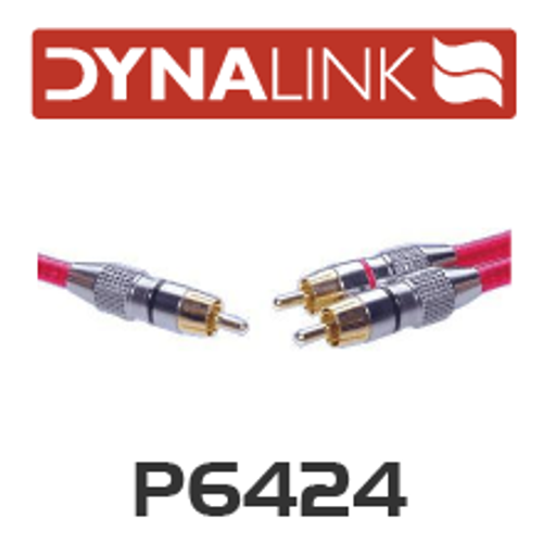Dynalink OFC Stereo RCA to Mono RCA Lead 10m