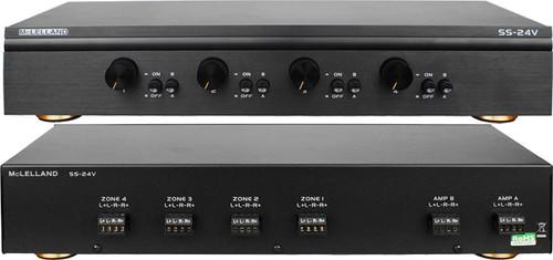 McLelland 4 Way Premium Speaker Selector