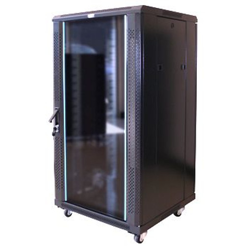 RWS 007 18RU Tall 600 Wide Communications & Network Cabinet