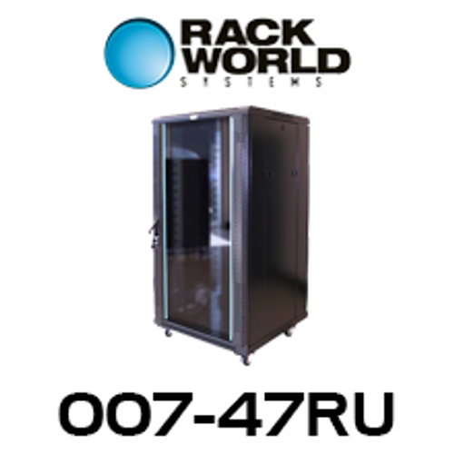RWS 007 47RU Tall 600 Wide Communications & Network Cabinet