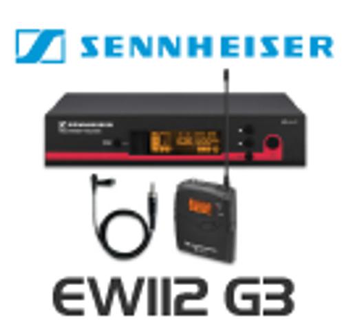 Sennheiser EW112 G3 Wireless Lapel Microphone System