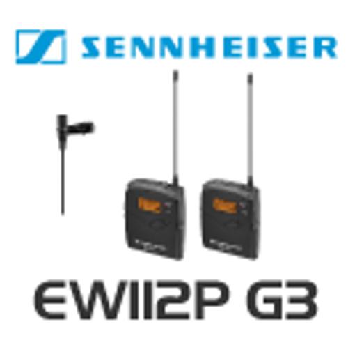 Sennheiser EW112P G3 Portable Wireless Lapel Microphone System