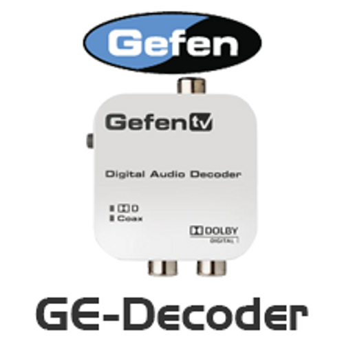 Gefen TV Digital Audio Decoder