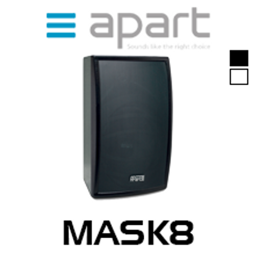 "Apart MASK8 8"" High SPL 2-Way Loudspeaker (Pair)"