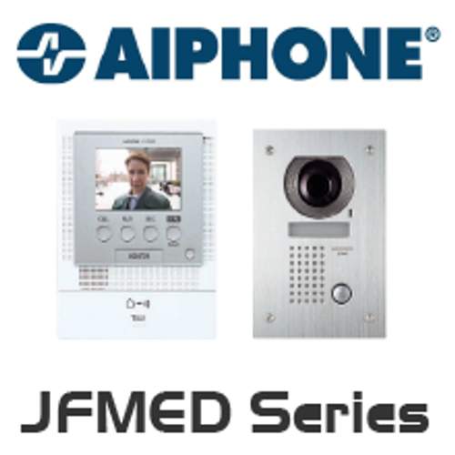 Aiphone JF-2MED Front Door Video Intercom - Kit