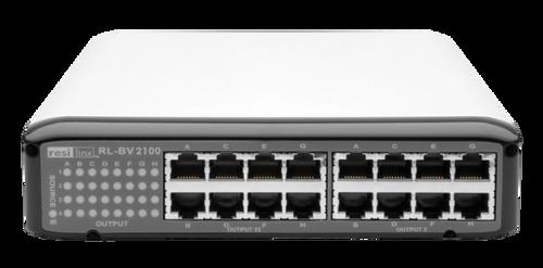 Resi-linx RL-BV2100 Component AV 4 x 8 Matrix Switch