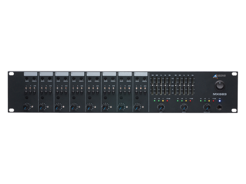 Australian Monitor MX883 8 Channel Stereo Mixer