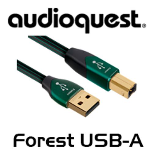 Audioquest Forest USB A to USB B / Micro USB Cable