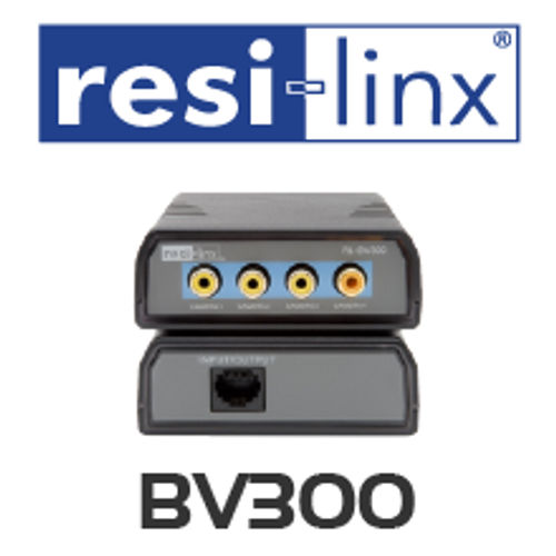 Resi-linxRL-BV300 Composite Video Balun Kit (up to 100m)