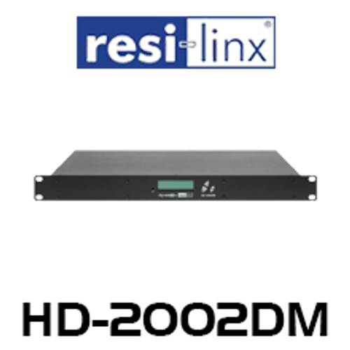 Resi-Linx HD-2002DM DVBT Dual Input HD Digital Modulator
