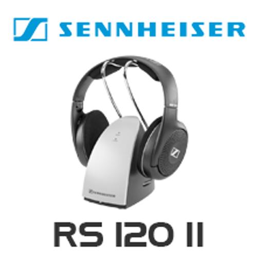 Sennheiser RS120-II On-Ear Wireless Headphones System