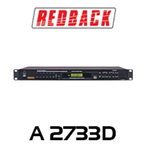 Redback MP3/CD/USB/SD Player With Pitch Control