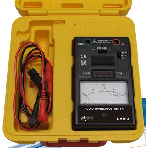 Australian Monitor Audio Impedance Meter