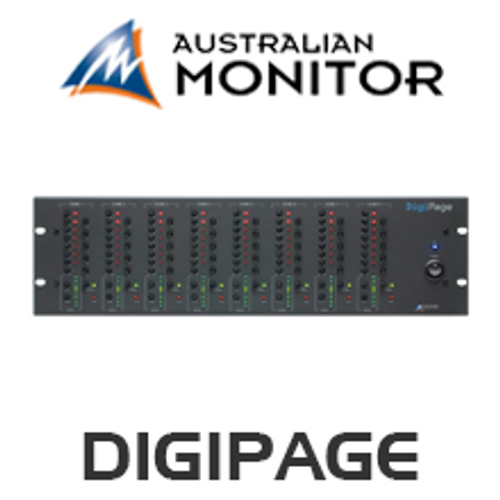 Australian Monitor Digipage 8 Zone Paging & BGM System