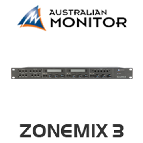 Australian Monitor Zone Mix 3 Mixer