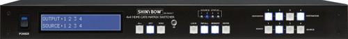 Shinybow HD-BaseT 4x4 HDMI Matrix System with IR (up to 100m)