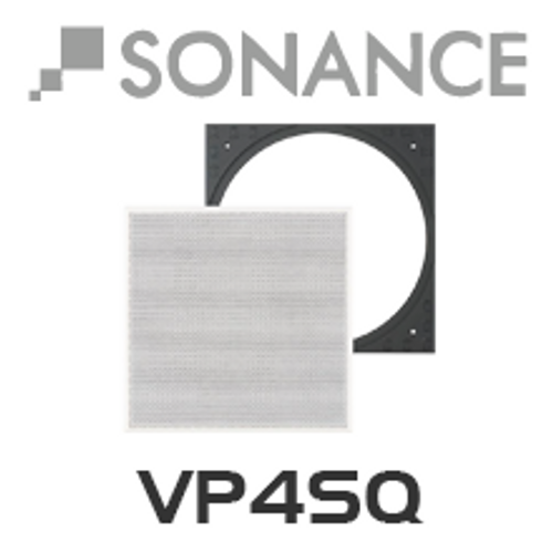 Sonance VP4SQ Square Adapter w/ Grille (Pair)