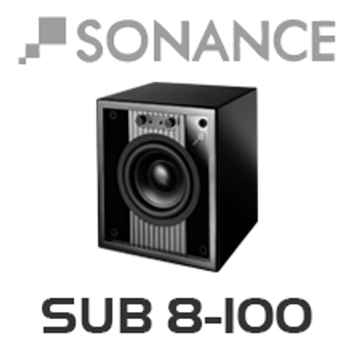 "Sonance VP Cinema SUB 8-100 8"" Cabinet Subwoofer"