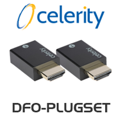 Celerity DFO-PlugSet Tx & Rx HDMI Connector (Pair)