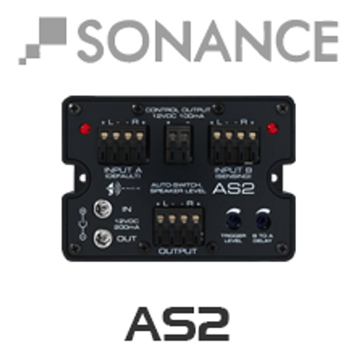 Sonance AS2 - Speaker Level Auto Secondary Source Selector