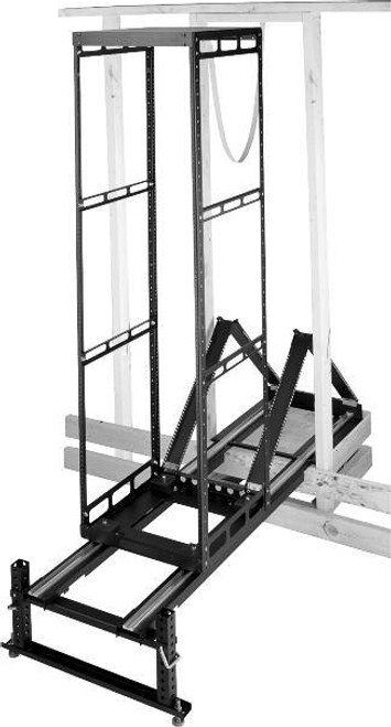 """Middle Atlantic AXS Series 20"""" Deep In-Wall Slide Out Rack with 30RU / 35RU / 40RU / 43RU"""