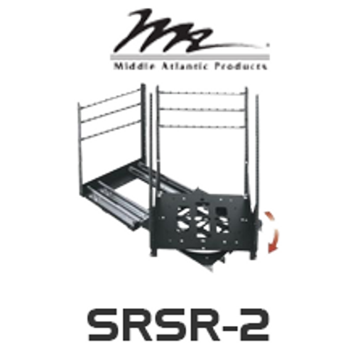 "Middle Atlantic SRSR 2 19"" Deep Slider Rotating Sliding Rail System with 12RU / 14RU / 16RU / 18RU / 20RU"